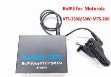 Radio-tone over-IP Zello,Real PTT, Azatti RT-RoIP3 for Motorola XTS-3500/5000