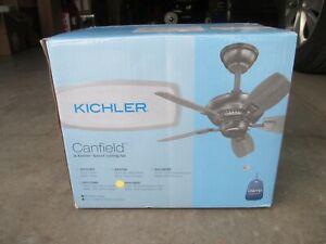 "New Kichler 30"" Blade Sweep Ceiling Fan"