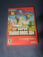 New Super Mario Bros. Wii (Nintendo Wii, 2009) TESTED