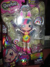 RAINBOW KATE Doll  Shopkins Wave 2 Season 9 Wild Style Shoppies; New