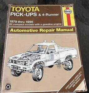 TOYOTA Pickup 4Runner Service Manual 1995 1994 1993 1992 1991 1990 1989 1988 79