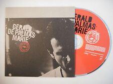 GERALD DE PALMAS : MARIE ▓ CD SINGLE PORT GRATUIT ▓