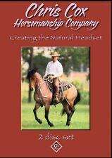 Chris Cox Creating the Natural Headset Horsemanship 2 Dvd set