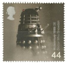 Royal Mail 1999 Doctor Who Dalek 44p Stamp - Millennium Series - NOS