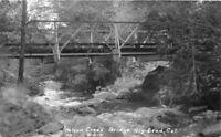 Big Bend California Bridge Nelson Creek 1920 RPPC Photo Postcard 9243