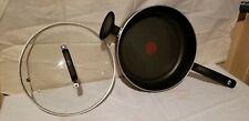T-Fal 5-Quart Jumbo Cooker Black Non Stick Fry Pan Skillet B3629063