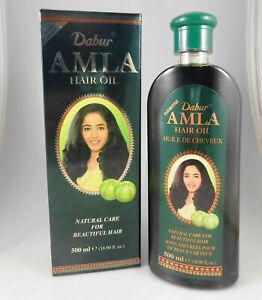 Dabur ORIGINAL Amla Hair Oil 200ml Natural Care Gooseberry USA SELLER FAST SHIP.