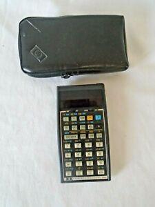 Vintage HP 34C calculator for parts or repair