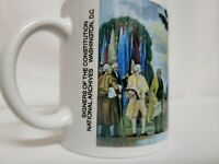 National Archives Washington D.C. Signers of the Constitution Coffee Mug.  New