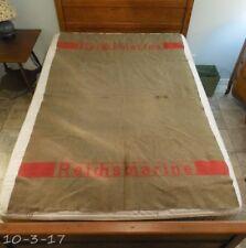 Pre WWII German Reichmarine Navy Wool Blanket