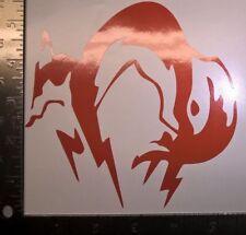 Fox Engine Metal Gear Solid Vinyl Decal Sticker Car Window Bumper JDM PC
