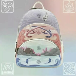 Avatar the Last Airbender 4 Elements Loungefly exclusive Backpack *CONFIRMED*
