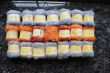 Lot (21) Skeins Target Fuzzy Fur SOFT Novelty Knitting Yarn NOS 1365 yds