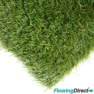 Ashton 35mm Artificial Grass Green Garden Realistic Fake Lawn Astro Turf CHEAP
