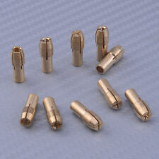 10x Brass Drill Chucks Collet Bits 0.5-3.2mm 4.8mm Dia for Dremel Rotary Tool