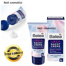 New in box Balea Urea Night Cream Nacht Creme Very Dry Skin With 5% Urea 50 ml