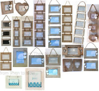 Various Wooden Hanging Photo Frames Picture Rustic Driftwood Chic Shabby Vintage