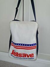 More details for jetsave luggage - flight - cabin retro vintage 1970's flight shoulder bag
