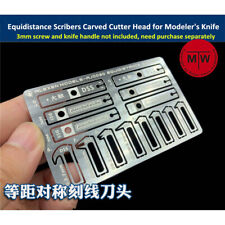 Equidistance Scribers Symmetrical Engrave Groove Carved Cutter Head 8 in 1 Tools