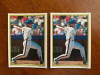 1989 Topps Glossy Send-Ins #17- Gary Carter, New York Mets- HOF (Lot of 2)