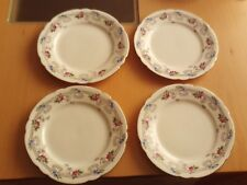 Pretty Vintage X4 Shelley China Side Plates Gainsborough Pink Rose 10776
