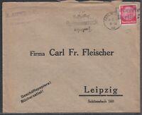 47253) Nachträglich Entwertet in Berlin 7 Geschäftspapiere Bücherzettel 1934