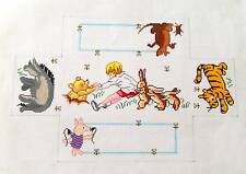 Winnie the Pooh & Friends Brick Cover Door Stop handpainted Needlepoint Canvas