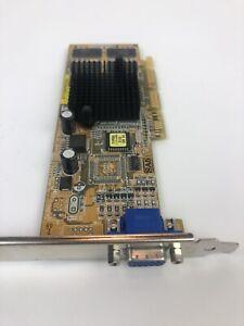 Asus V7100PRO/64M AGP  64MB VGA Video S-Vid Graphics Card (T3)