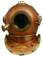 Diving Helmet US Navy Mark V Deep Sea Marine Divers Antique Scuba SEA Divers A7