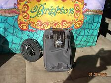 Brighton Gray zip around wallet NWT