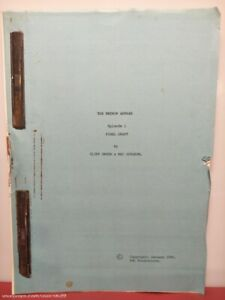 The Petrov Affair 1986 Mini Series Episode 1 Movie Production Used Film Script
