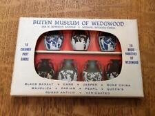 Wedgwood Buten Museum folder of 16 post cards, complete set