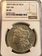 1879 S Rev Of 78 Morgan Silver Dollar Ngc Xf45 Top 💯 Reverse Of 78