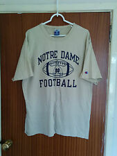 RARE Vintage 1995 Notre Dame Football Americano T-Shirt Fighting Irish NCAA grandi