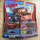 Disney PIXAR Cars 2 RACE TEAM MATER # 1 diecast tow truck Mattel 1:55 scale