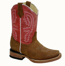 Kid's ToddlerGenuine Western Cowboy Boots in Best Colors