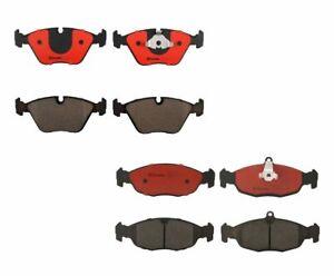 Front &Rear Brembo Brake Ceramic Pads Kit For Jaguar Vanden Plas XJ8 XJR XK8 XKR