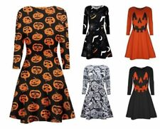 Halloween Viscose Dresses All Seasons