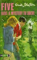 Five Have a Mystery to Solve (Knight Books)-Enid Blyton, Eileen Soper