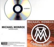 Michael Monroe 2017 1trk PROMO CD Eighteen Angels HANOI ROCKS