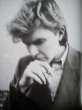 David Sylvian Japan Interview & B&W Photo's to frame? 2009 6 pages from Mag