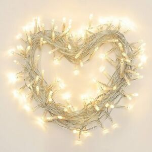 LIGEDMAS 42.6FT 120 LED Battery Operated String Lights for Decoration, Warm Whit