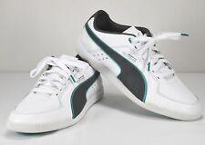 29e176e46d4 Men s PUMA Mercedes AMG Shoes White Teal Grey Size 12 Petronas Formula One  Team