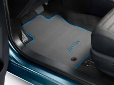 Genuine Toyota Auris 4x Car Floor Carpet Mats 830g 2012 Onwards Anthracite Blue
