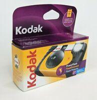 Kodak HD Power Flash Disposable Camera 27 Exposure Color Film Expired 10/2009