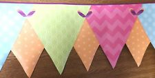Wallpaper Borders Children's Bedroom pre-pasted designer  KS2286DB bunting