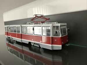 KTM -5M3.  1:43 SSM Straßenbahn  (USSR, RUSSIAN TRAM )