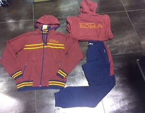 2935 AS ROMA Tracksuit Sweatshirt Cotton Official Color Sudadera R 2014/2015