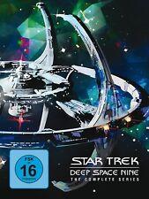 STAR TREK: DEEP SPACE NINE-COMPLETE BOXSET-REP  48 DVD NEU