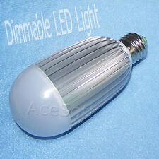 Dimmable E27 27W 2970LM 6000-6500K Solar Pure White Light LED Ball Bulb 110V USA